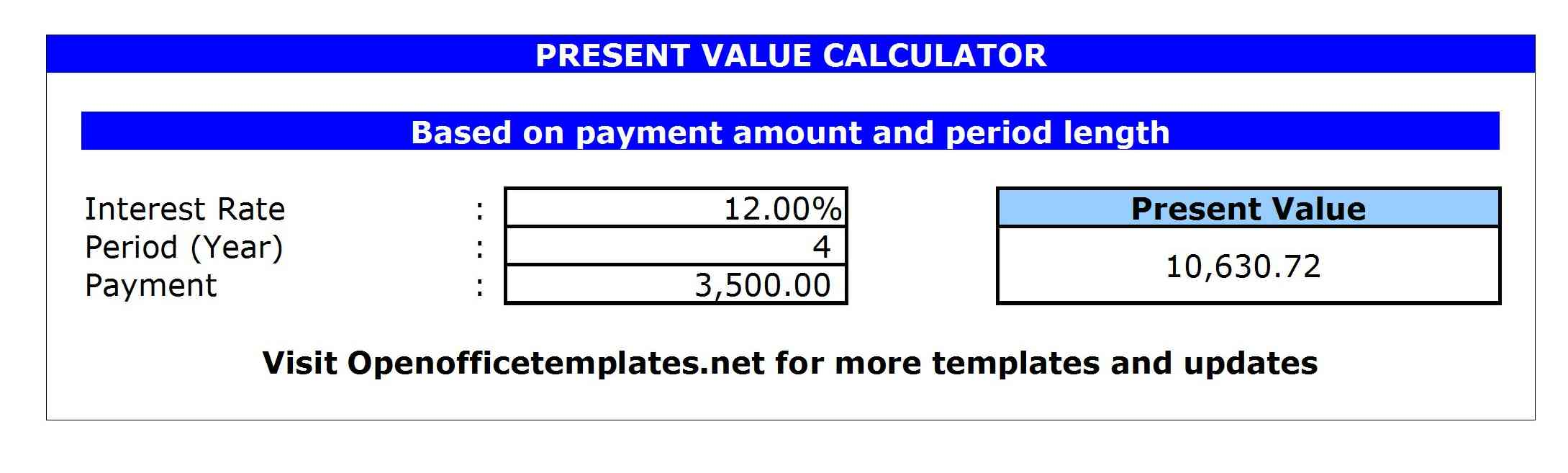 Present-Value-Calculator